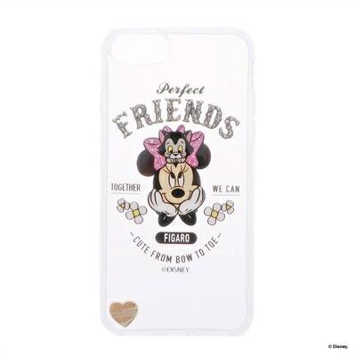 サマンサタバサプチチョイス ディズニーコレクション ミニー&フィガロ iPhone8ケース ピンク