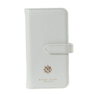 サマンサタバサプチチョイス フラワーモチーフシリーズ iPhone8ケース ホワイト