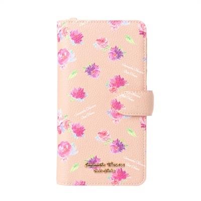 サマンサタバサプチチョイス フラワープリントシリーズ iPhone8Plusケース ベージュ