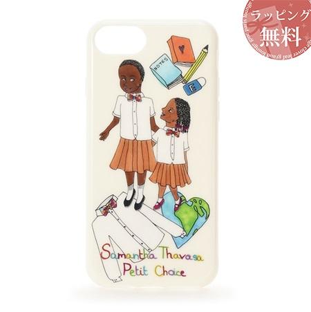 サマンサタバサ スマホケース 『Artist Lara』×『CLOUDY』コラボ iphoneケース 7-8 ホワイト SamanthaThavasaPetitChoice