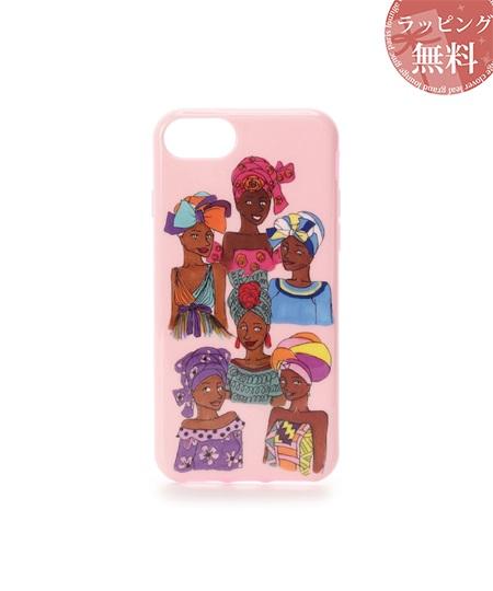 サマンサタバサ スマホケース 『Artist Lara』×『CLOUDY』コラボ iphoneケース 7-8 ピンク SamanthaThavasaPetitChoice