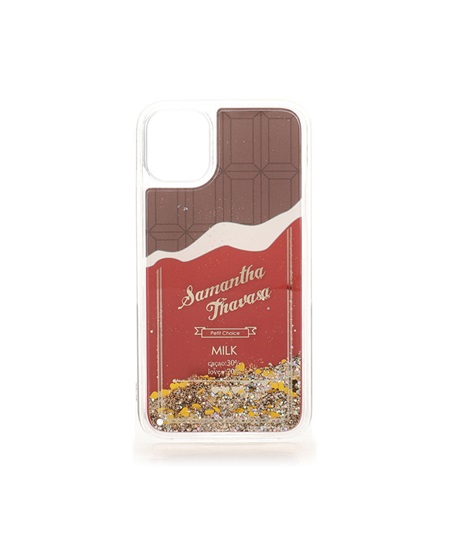 サマンサタバサ モバイルケース チョコレートコレクション iphone11ケース ブラウン SamanthaThavasaPetitChoice