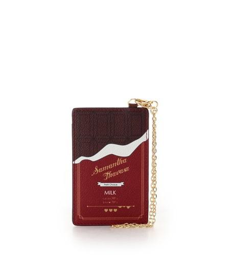 サマンサタバサ パスケース チョコレートコレクション ブラウン SamanthaThavasaPetitChoice