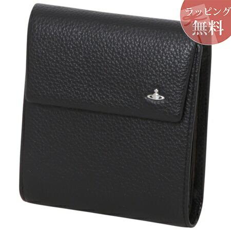 ヴィヴィアンウエストウッド 財布 折財布 三つ折り メンズ ファンタジー ブラック Vivienne Westwood