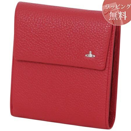ヴィヴィアンウエストウッド 財布 折財布 三つ折り メンズ ファンタジー レッド Vivienne Westwood