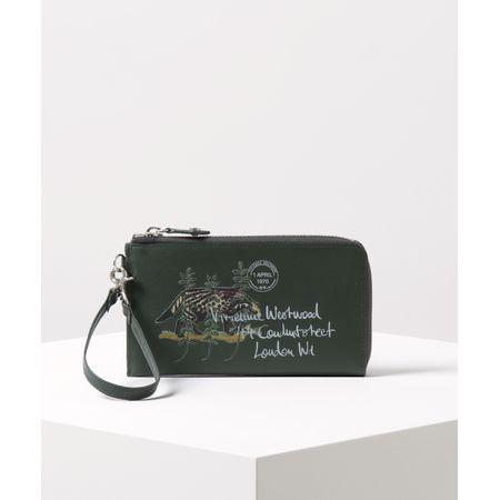 海外並行輸入正規品 ヴィヴィアンウエストウッド マルチケース モンキー&タイガー グリーン Vivienne Westwood, 平野商店 285a44ef