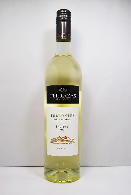 テラザスレゼルヴァ Tron Tess 2018 Terrazas Reserva Torrontes