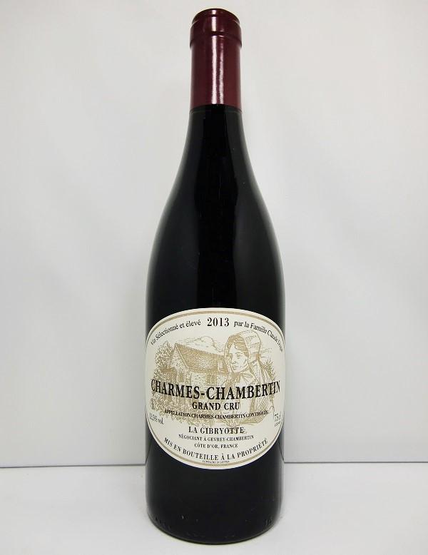 ラ・ジブリオットシャルム・シャンベルタン グラン・クリュ [2013]La GibryotteCharmes Chambertin Grand Cru