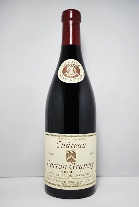 ルイ・ラトゥールシャトー・コルトン・グランセィ [2010]Louis Latour Château Corton Grancey