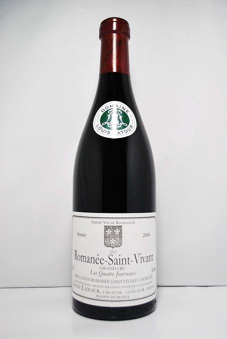 """ルイ・ラトゥールロマネ・サン・ヴィヴァン """"レ・キャトル・ジュルノー"""" [2006]Louis Latour Romanée-Saint-Vivant """"Les Quatre Journaux"""""""