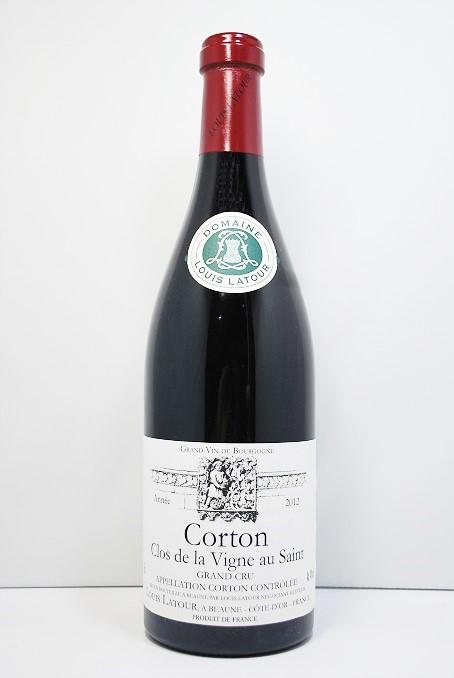 """ルイ・ラトゥールコルトン""""クロ・ドゥ・ラ・ヴィーニュ・オーサン""""[2012]Louis Latour Corton """"Clos de la Vigne au Saint"""""""