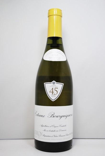 ドメーヌ・ルロワ コトー・ブルギニョン・ブラン [2013]Domaine Leroy Côteaux Bourguignons Blanc