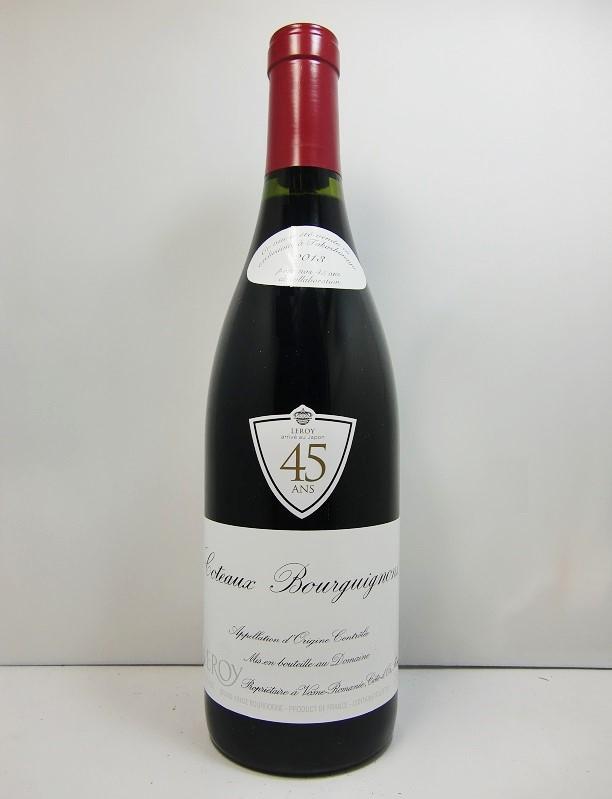 ドメーヌ・ルロワ コトー・ブルギニョン・ルージュ [2013]Domaine Leroy Côteaux Bourguignons Rouge