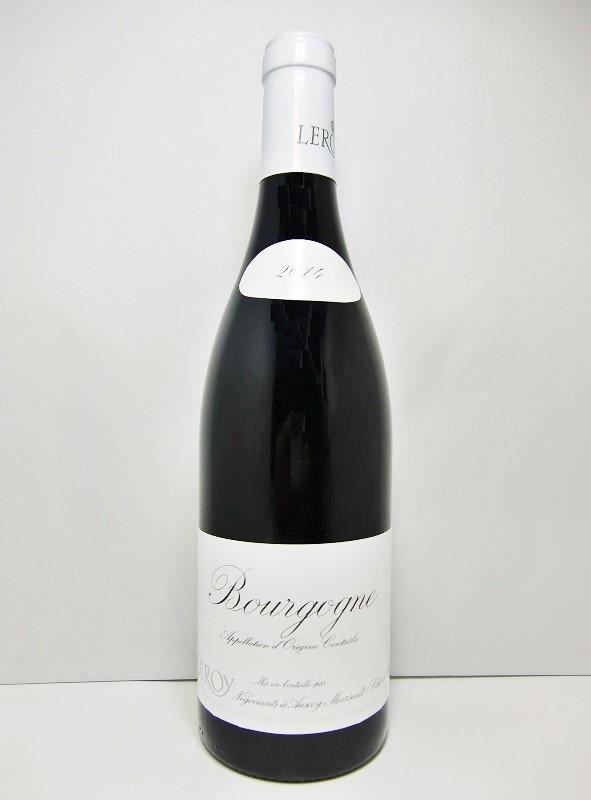 メゾン・ルロワ ブルゴーニュ・ルージュ [2014]Maison Leroy Bourgogne Rouge