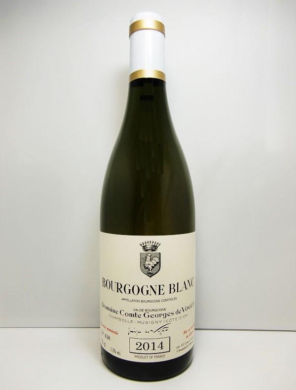 ドメーヌ・コント・ジョルジュ・ド・ヴォギエブルゴ-ニュ ブラン [2014]Domaine Comte George de VogueBourgogne Blanc