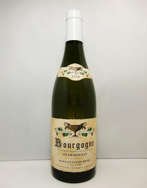 コシュ・デュリブルゴーニュ・シャルドネ [2010]Domaine Coche Dury Bourgogne Chardnnay