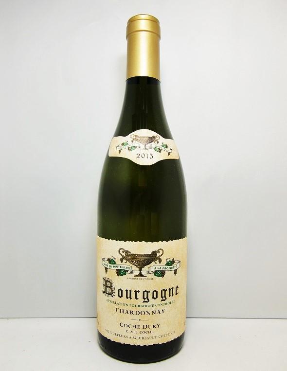 コシュ・デュリブルゴーニュ・シャルドネ [2015]Domaine Coche Dury Bourgogne Chardnnay