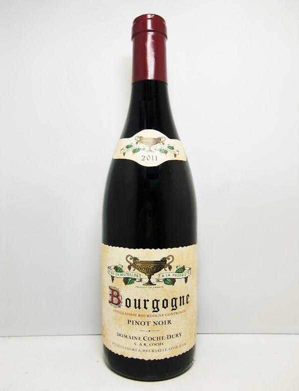 コシュ・デュリブルゴーニュ・ピノ・ノワール [2011]Domaine Coche Dury Bourgogne Pinot Noir