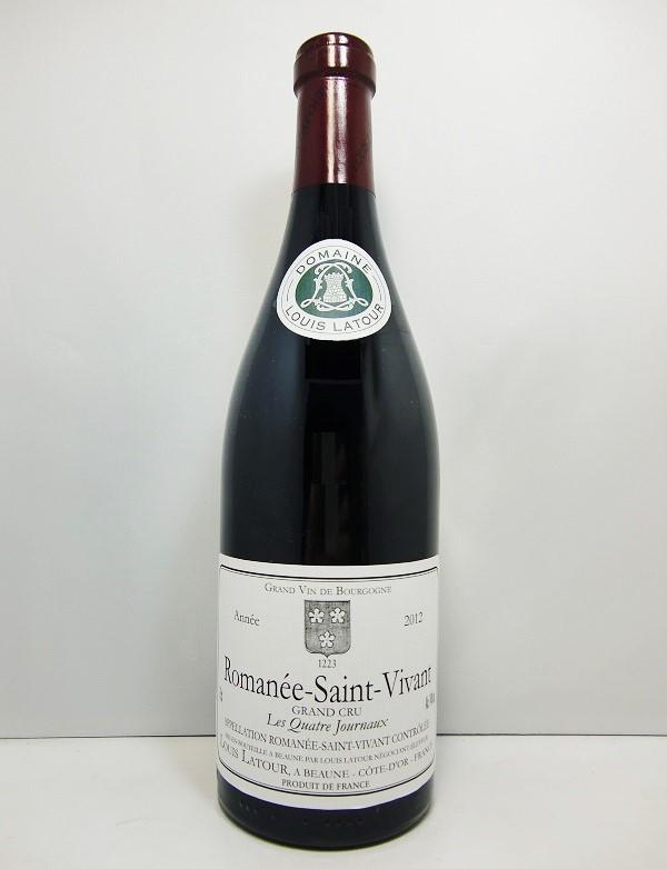 """ルイ・ラトゥールロマネ・サン・ヴィヴァン """"レ・キャトル・ジュルノー"""" [2012]Louis Latour Romanée-Saint-Vivant """"Les Quatre Journaux"""""""