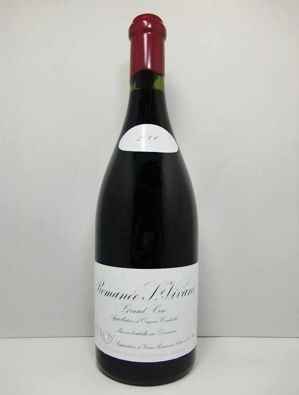 ドメーヌ・ルロワ ロマネ・サン・ヴィヴァン [2000]Domaine Leroy Romanee Saint Vivan