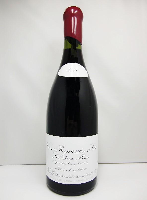 ドメーヌ・ルロワ ヴォーヌ・ロマネ プルミエ・クリュ レ・ボーモン [2000]Domaine Leroy Les Beaux Monts