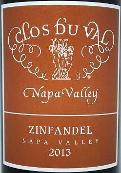 Clos du Val classic-Napa-Valley-Zinfandel Cols du Val Classic Napa Valley Zinfandel