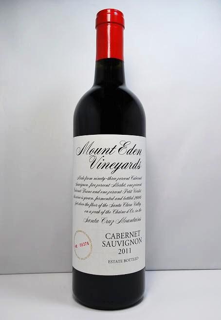マウント・エデン・ヴィンヤーズカベルネ・ソーヴィニヨン・エステート [2011]Mount Eden Vineyards Cabernet Sauvignon - Estate