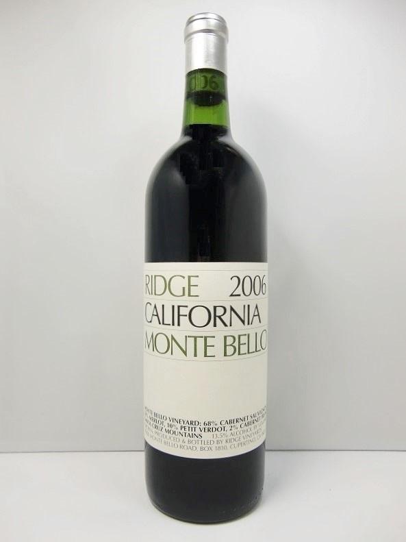 リッジ モンテ・ベロ [2007]Ridge Monte Bello