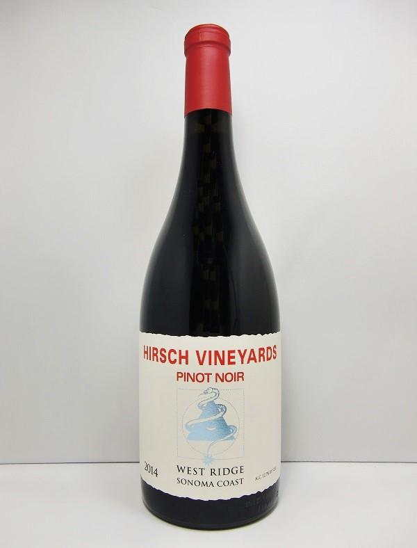 ハーシュ・ヴィンヤーズウエスト・リッジ ピノ・ノワール [2014]Hirsch Vineyards West Ridge Pinot Noir