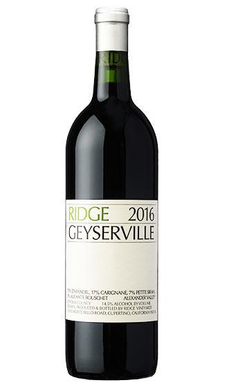リッジ ガイザーヴィル [2016]Ridge Geyserville