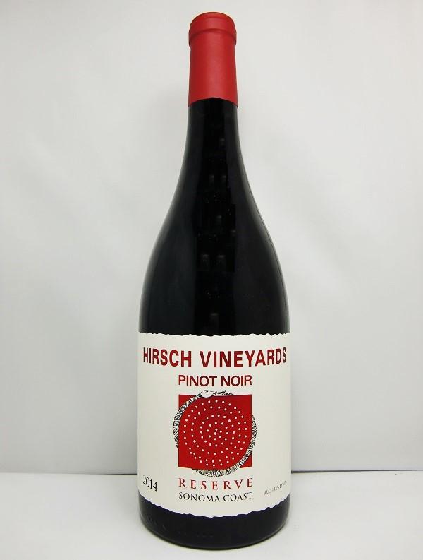 ハーシュ・ヴィンヤーズリザーヴ・エステート  ピノ・ノワール [2014]Hirsch Vineyards Reserve Estate Pinot Noir