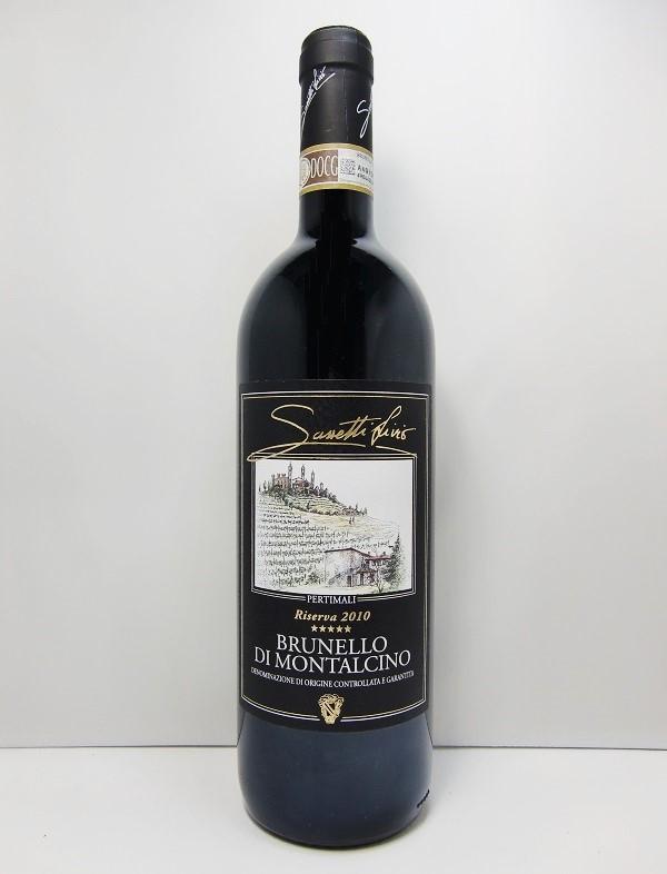 サセッティ・リヴィオ ペルティマリブルネッロ・ディ・モンタルチーノ・リゼルヴァ [2010]Sassetti Livio – PertimaliBrunello di Montalcino Riserva D.O.C.G.