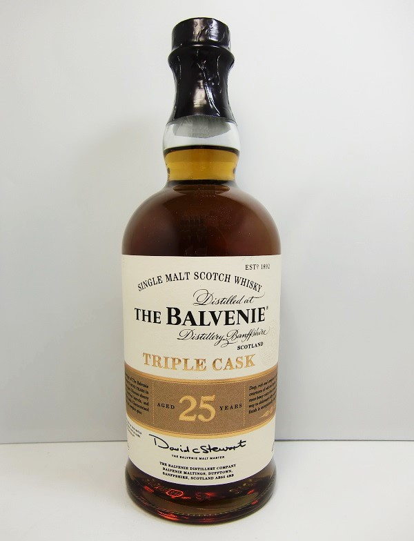 バルヴェニー 25年 トリプル・カスクThe Balvenie 25 years Triple Cask