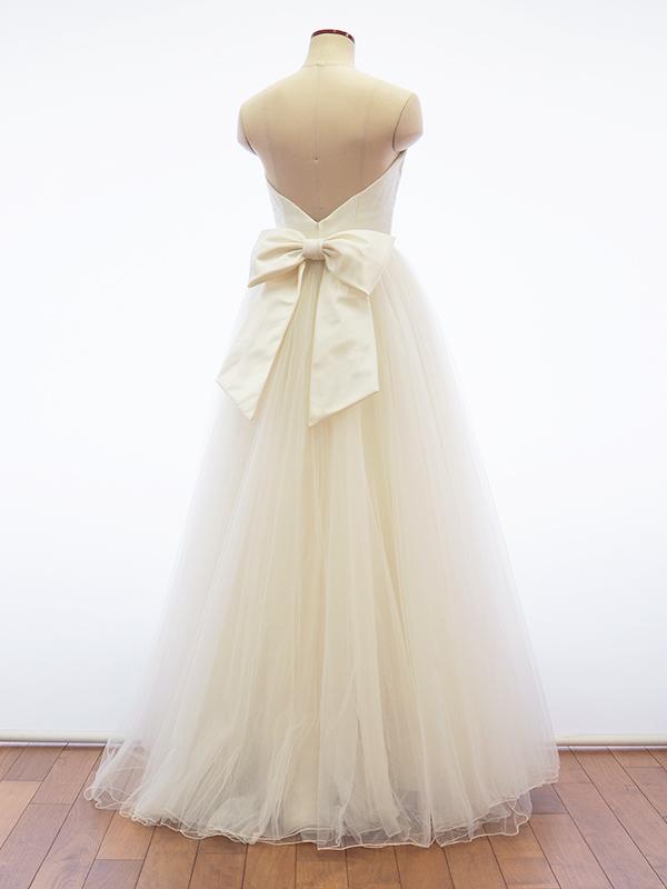 【クーポンで5%OFF】シルクサテン リボン ウェディング (ウェディングドレス ウエディングドレス アレンジ 結婚式 ブライダル ウェディングドレス小物)[S093]【送料無料】