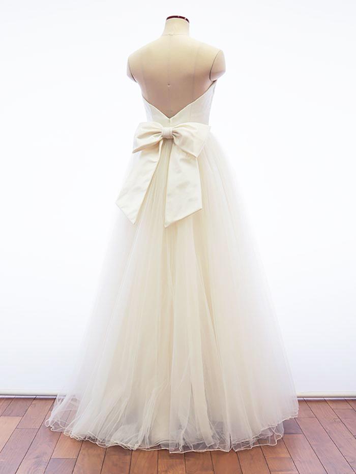 【クーポンで5%OFF】シルクサテン リボン ウェディング (ウェディングドレス ウエディングドレス アレンジ 結婚式 ブライダル ウェディングドレス小物)[S094]【送料無料】