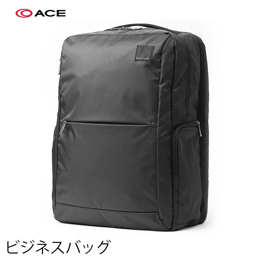 買物 バッグ 鞄 かばん ショルダーバッグ ビジネス メンズ AE-2994307 公式サイト クーポンで更にお得 PC15インチ収納ポケット有り WorldTraver 出勤 エース ACE WT 出張 キャリーオンバッグ 耐水 マリカ 止水ファスナー パソコン