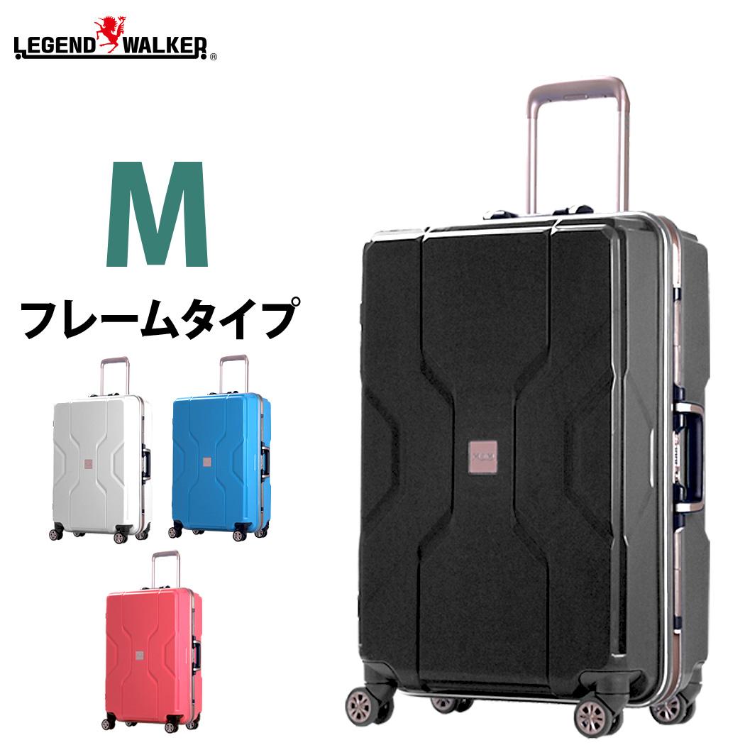スーツケース キャリーケース 中型 M サイズ キャリーバッグ キャリーバック 軽量 TSAロック フレーム 対応 ポリプロピレン モダニズム M3002-F60