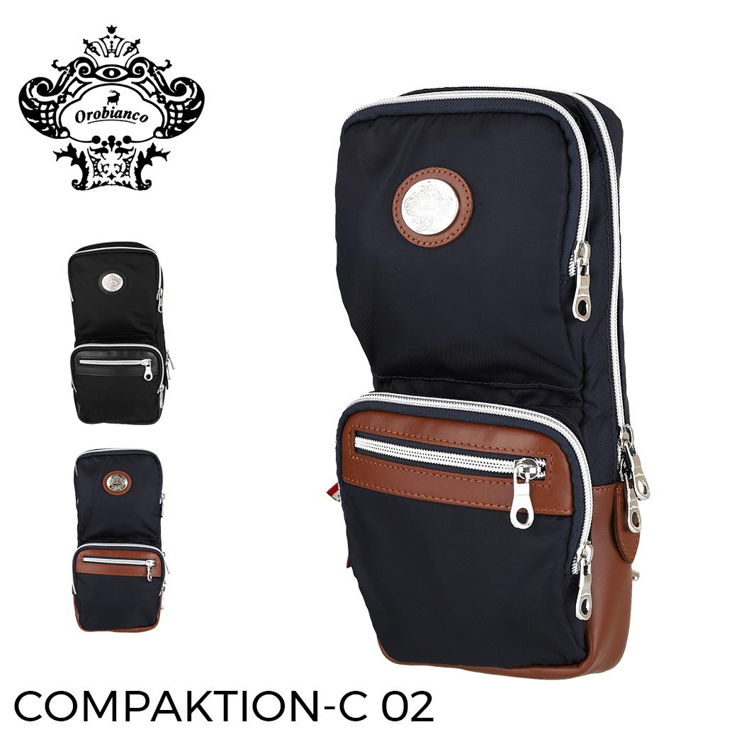 オロビアンコ 新着セール ボディバッグ ショルダーバッグ OROBIANCO COMPAKTION-C 02 ビジネス メンズ 鞄 バレンタイン レディース orobianco-90467 直営限定アウトレット ギフト バッグ