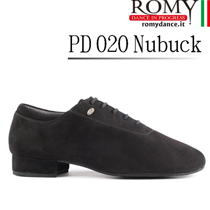 男性 紳士 メンズ シューズ ヌバック ダンス 社交ダンス スタンダード ROMY dance「PD 020 Nubuck(メンズ ヌバック スタンダード ダンスシューズ)」