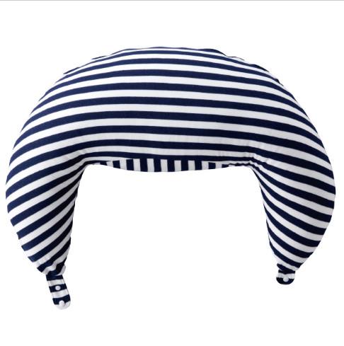 関東~関西送料無料  赤ちゃんの城  ツーウェイ抱き枕 (授乳クッション) 【ボーダーNB】83641