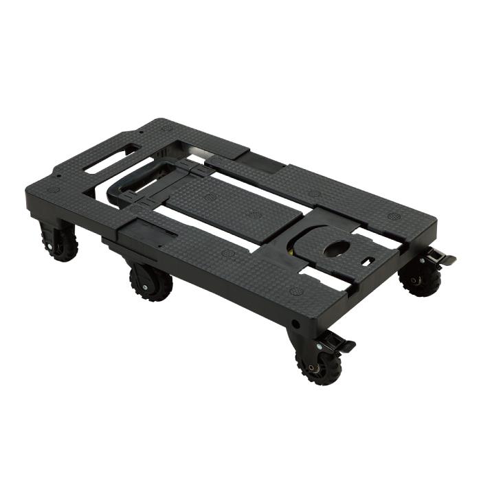 1台あると便利な可変式台車 重い荷物も楽に押したり引いたりできます 付属のバンドを使用すれば 載せた荷物をしっかり固定 ハンドルを収納すれば通常の台車としても使えます 可変式台車トランストローリーカート 折りたたみ ハンドル 調節可能 軽量 台車 手押 静音 ゴムロープ付 フック 7輪 旅行 買い物 運動会 省スペース 防災 耐荷重150kg お気に入り 発売モデル 大人 引越し 型番:Ho-00192 釣り 安定 コンパクト 子供 悪路OKマリン商事