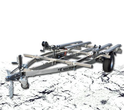 MAX TRAILER/マックストレーラープロポジション 2艇積 500kgステンレス※キャンセル不可※代引き不可