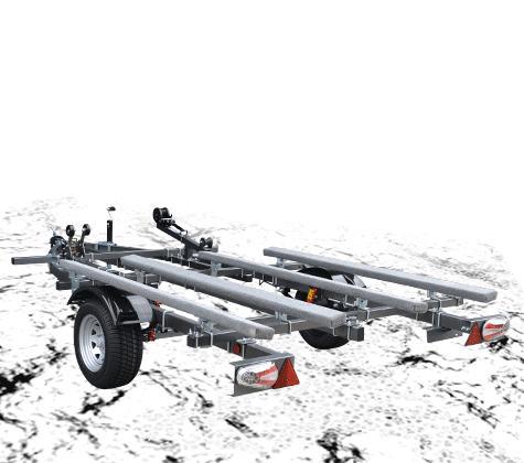 MAX TRAILER/マックストレーラープロポジション 2艇積 500kgスチール※キャンセル不可※代引き不可