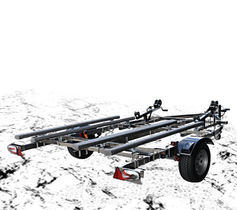 MAX TRAILER/マックストレーラーモンスターG 2艇積 500kgステンレス※キャンセル不可※代引き不可