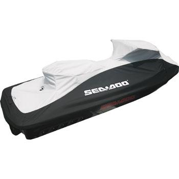 【SEA-DOO COVERS】ブラック/ライトグレーRXT-X260&RXT260(2010~)、GTX155/215、RXT-X300※サスペンション無しモデル#品番変更:295100719