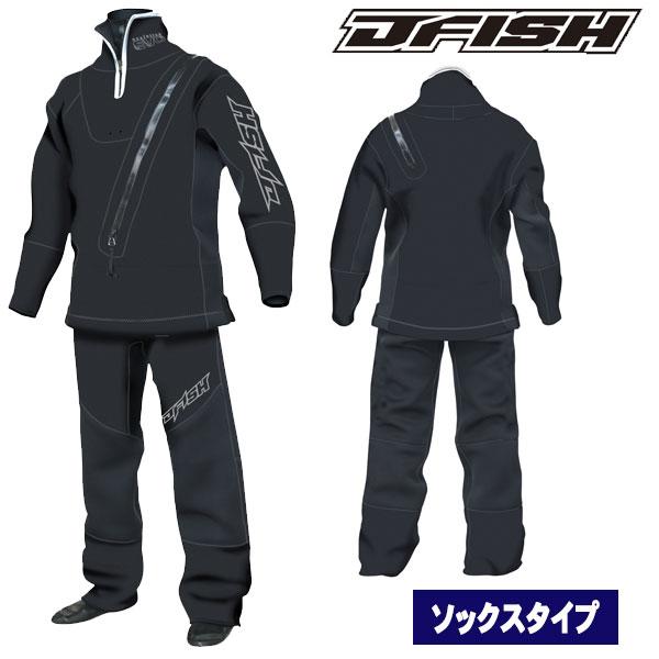 J-FISH/ジェイフィッシュ2018-19モデルウェットドライスーツ(ソックスタイプ) メンズドライスーツ