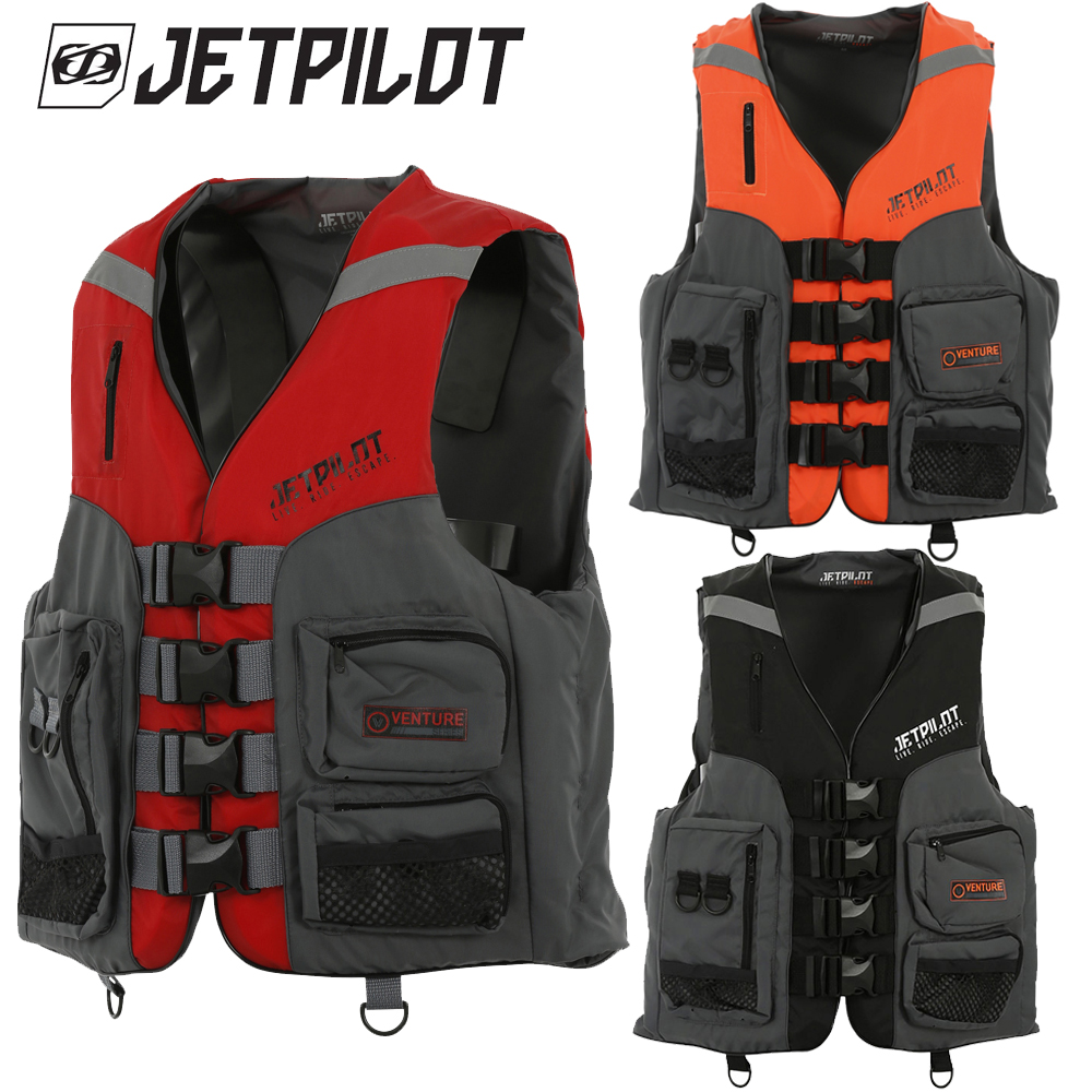 JETPILOT ジェットパイロット 2020モデル VENTURE 超人気 専門店 NYLON メンズ 今だけ限定15%OFFクーポン発行中 VEST CGA ライフジャケット