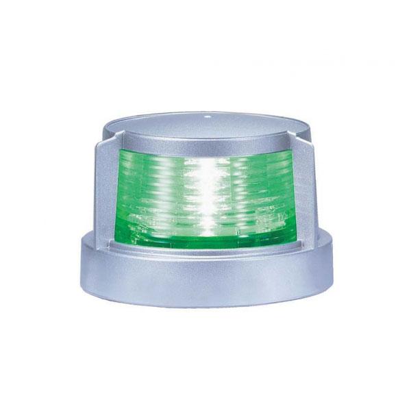第二種舷灯(緑) スターポートライトMLR-4AB2Sシルバーボディ