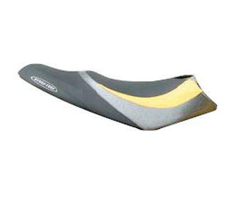 HYDRO TURF シートカバーRXP('04~'06) BLK×YEL×SIL×BLK※代引き不可※キャンセル不可