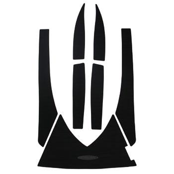 HYDRO-TURFデッキマットキット(テープ付き)SD GTX(03-08),GTX4TEC(02-05),GTX DI(02),RXT7PCS モールデッドダイヤ ダークグレー※海外取り寄せ(納期:通常2~4週間)※代引き不可※キャンセル不可